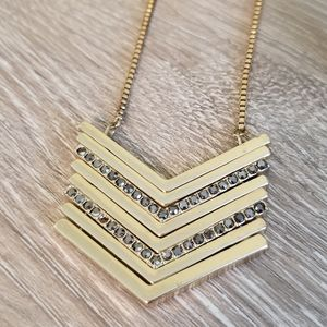 Chevron Necklace (long)